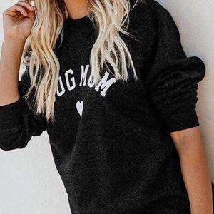 Sweaters - 🐶Dog Mom Lightweight Long Sleeve